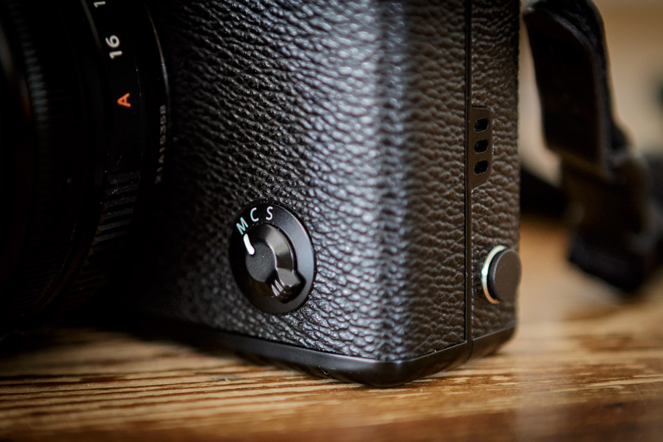 Back Button Focus Fujifilm X-Pro1 Manual Focus