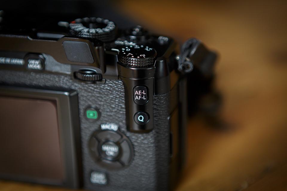 Back Button Focus Fujifilm X-Pro1 AE-L AF-L