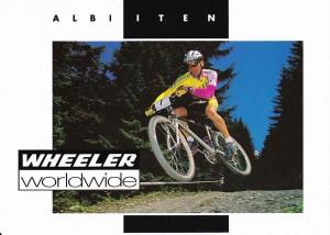 Albert Iten Wheeler promocard 1994