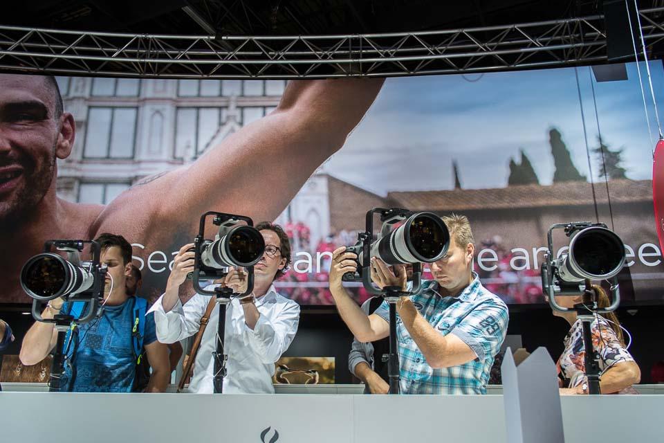 Han Balk Photokina 2014 supertele 2