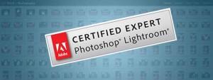 Adobe Certified Expert Lightroom header