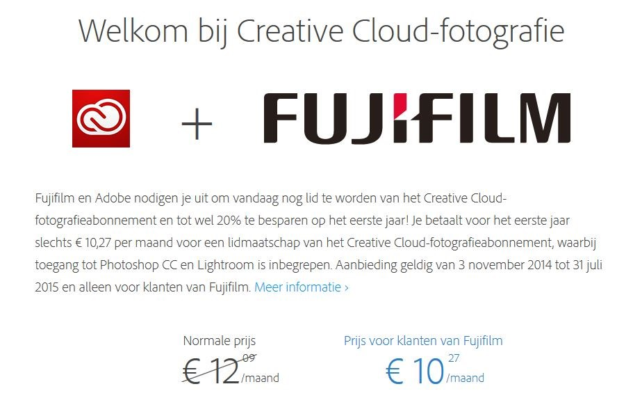 Adobe Creatie Cloud Promo