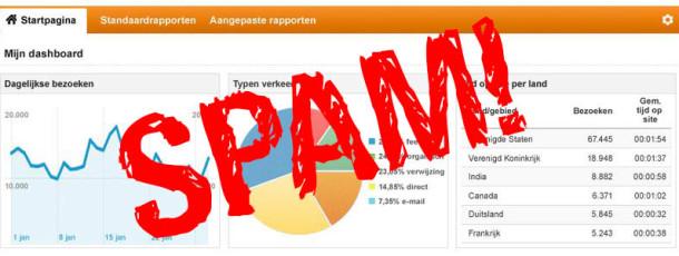 Verwijzing spam stoppen met 3 muiskliks