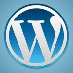 WordPress logo blogg header