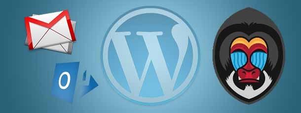 Mail vanuit WordPress versturen